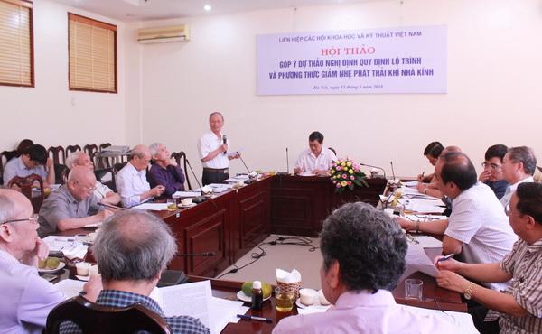 Góp ý dự thảo Nghị định quy định lộ trình và phương thức giảm nhẹ phát thải khí nhà kính