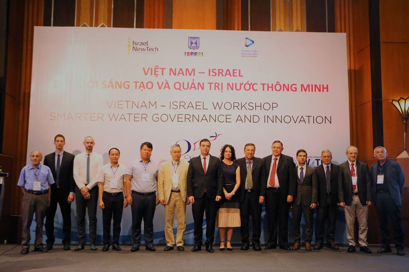 Việt Nam – Israel kinh nghiệm quản lý và đổi mới sáng tạo trong ngành nước