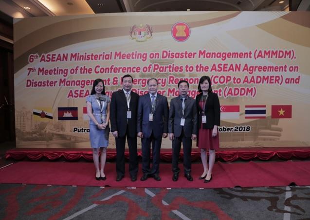 Hội nghị Bộ trưởng ASEAN về Quản lý thiên tai lần thứ 6 và Hội nghị các Bên tham gia Hiệp định ASEAN về QLTT và UPKC lần thứ 7